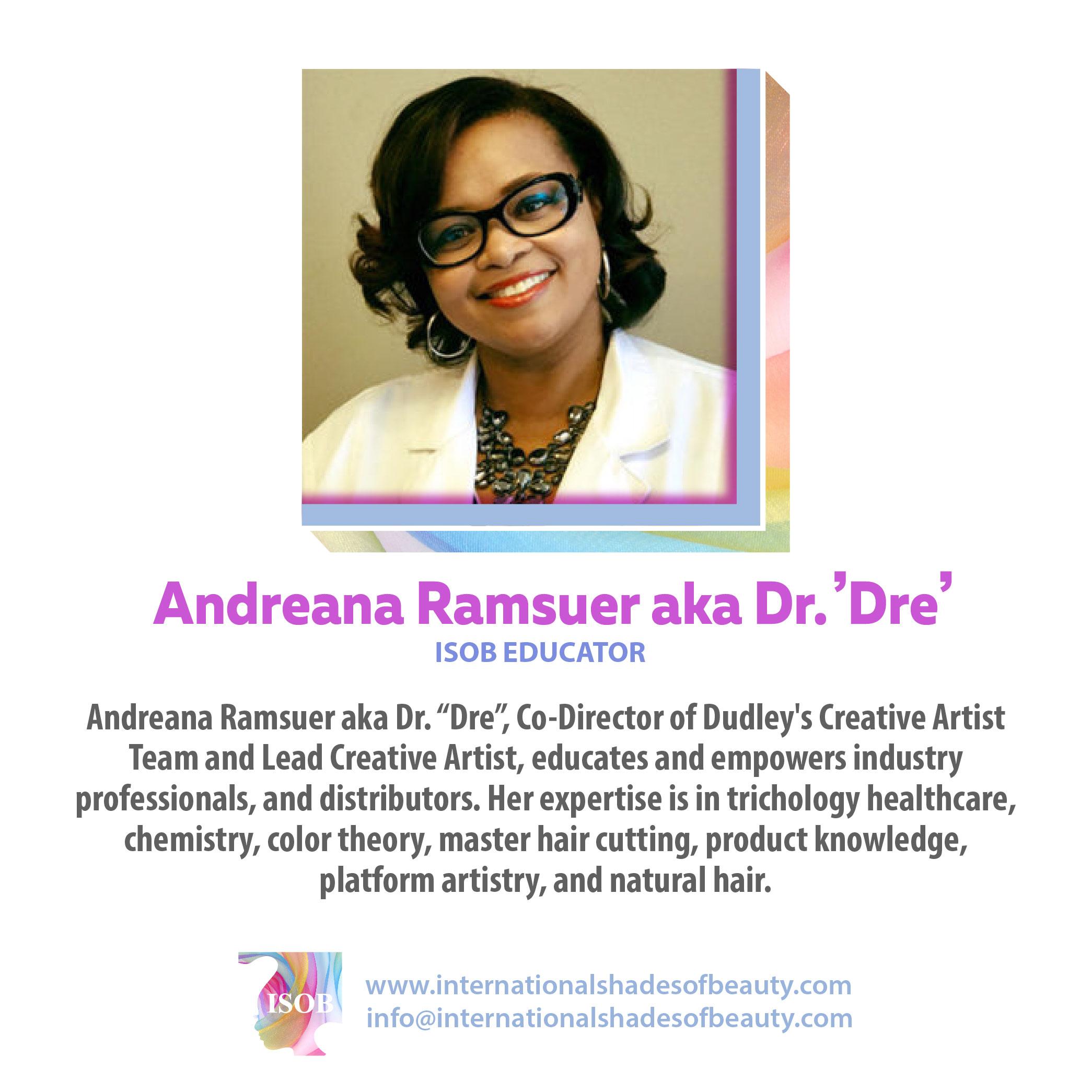 ISOB•_Andreana Ramsuer aka Dr. Dre