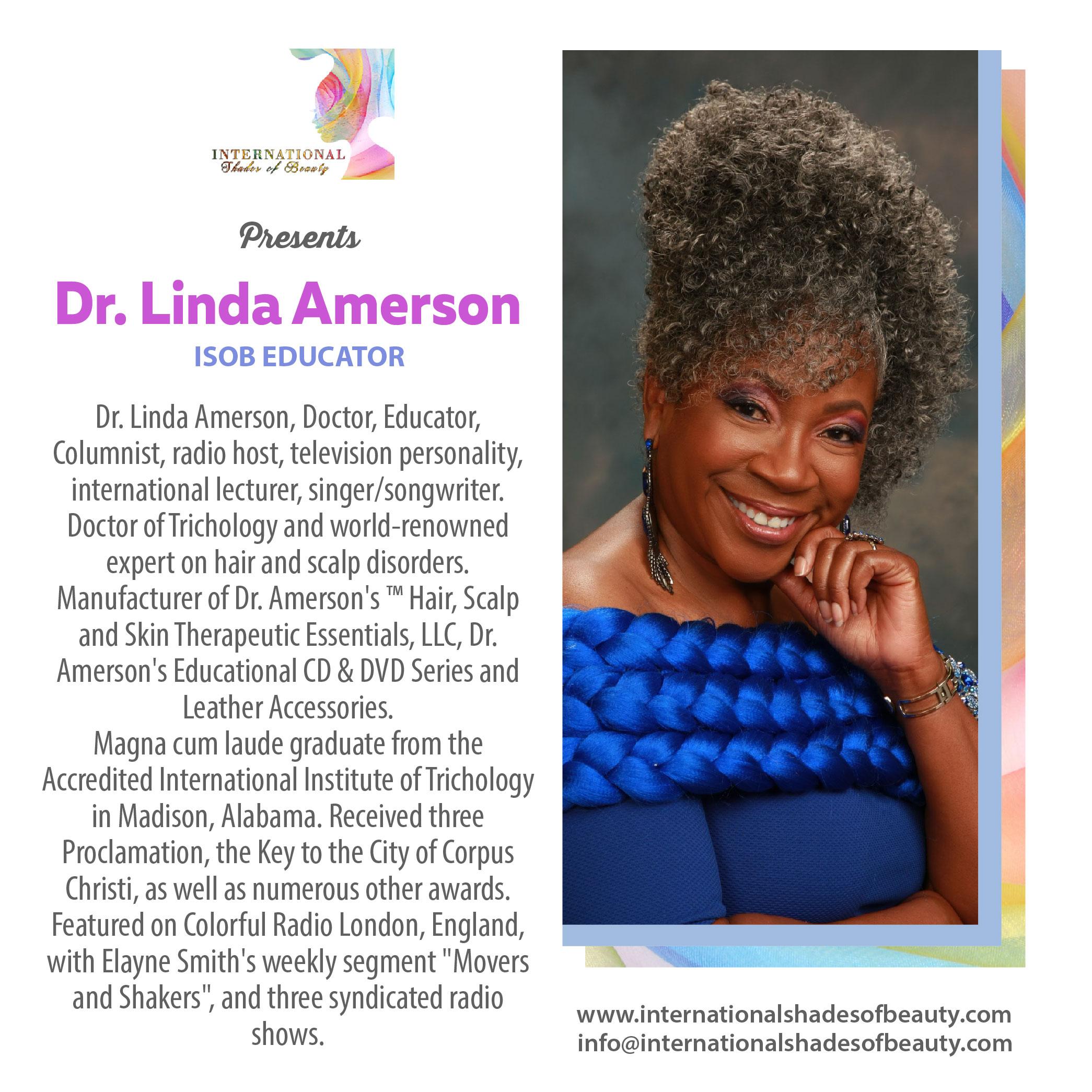 ISOB•_Dr. Linda Amerson