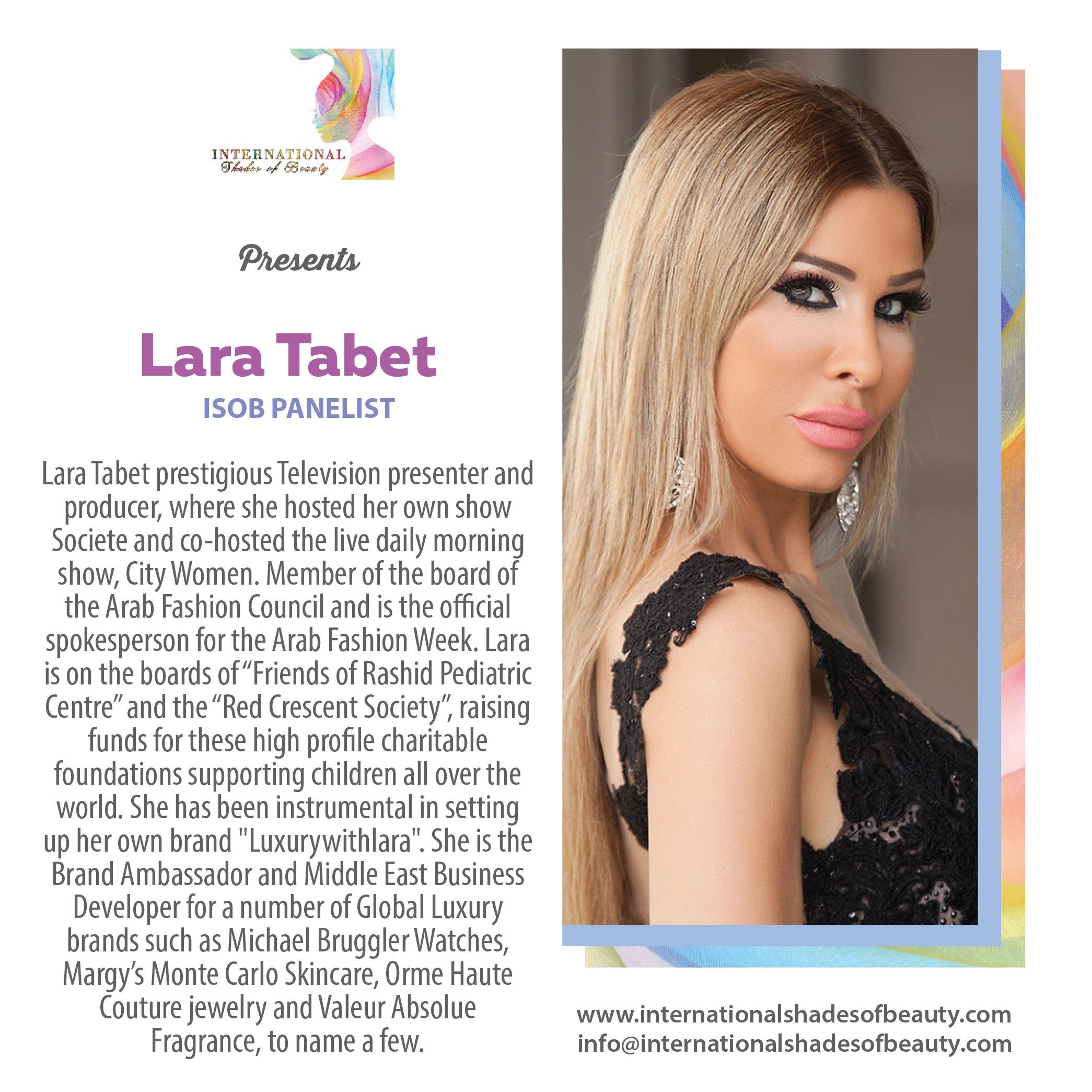 ISOB-3rd•_Lara Tabet