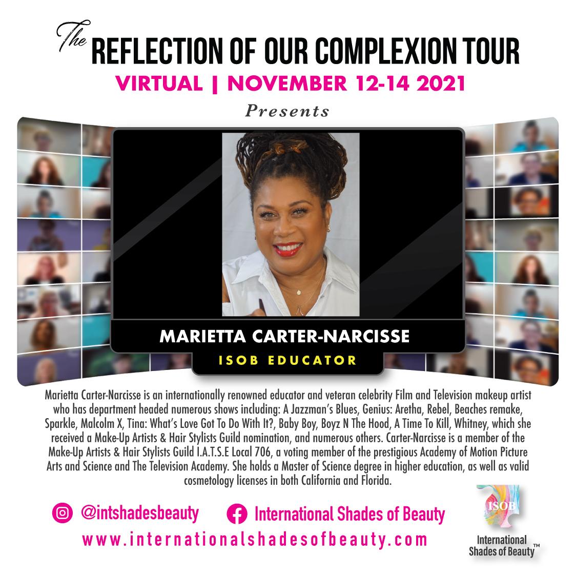 ISOB EDUCATORS 2021_Marietta Carter-Narcisse